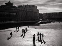 MES BOULISTES - photo des illustres boulistes de la plage de l'écluse à DINARD, Bretagne - DSC0797
