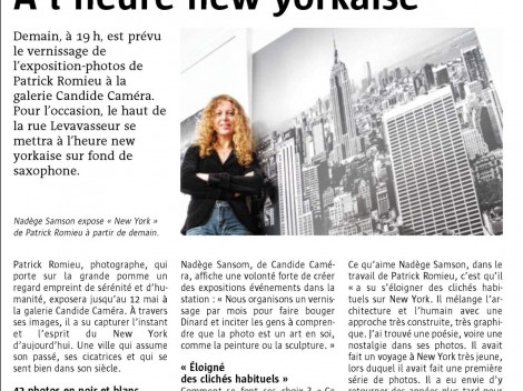 Candide camera - Vernissage New York - Patrick Romieu