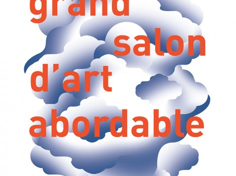 Affiche 24eme edition grand salon d'art abordable