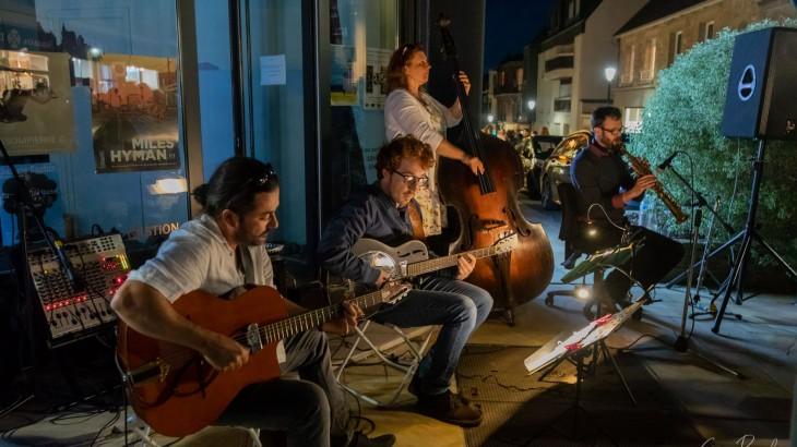 Groupe Jazz Manouche du 11 aout 201che du 11 aout 2018