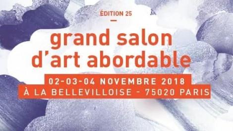 25ème édition salon d'art abordable La Bellevilloise