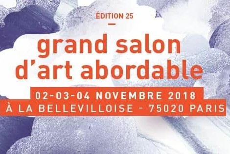 25ème édition salon d'art abordable La Bellevilloise